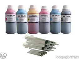 6x10oz Refill ink kit for Epson 277 T277 Expression Photo XP