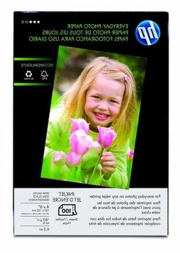 HP Everyday 4x6  Photo Paper 100 Sheets