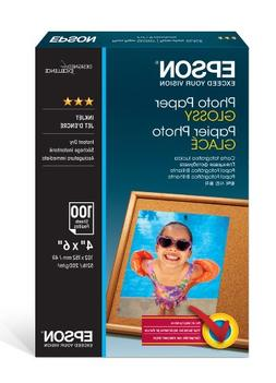 "Epson Photo Paper Glossy - Borderless - S042038, 4"" x 6"""