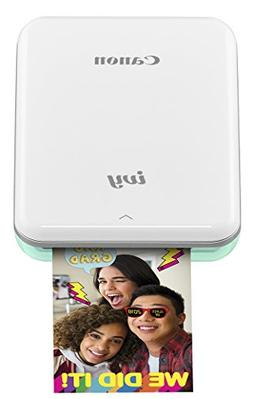 Canon IVY Mobile Mini Photo Printer through Bluetooth, Mint