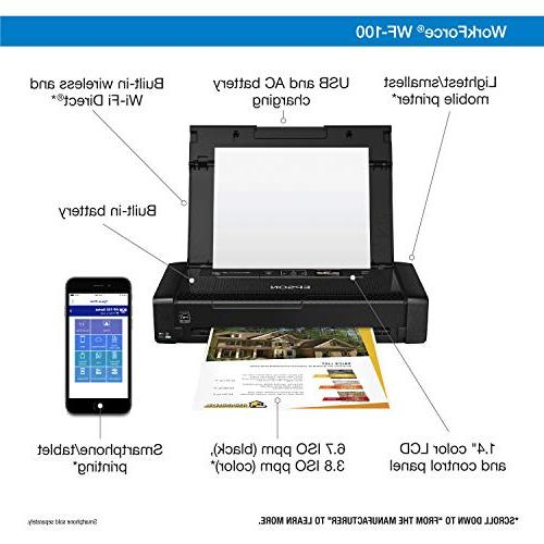 Epson WorkForce Wireless Mobile Dash Replenishment