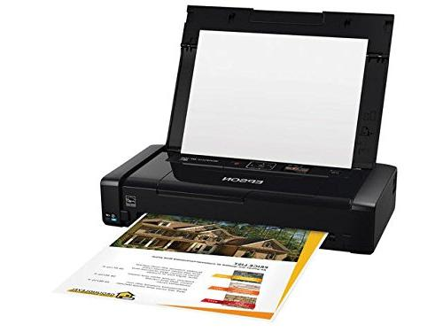 Epson WorkForce WF-100 Wireless Mobile Printer, Amazon Dash