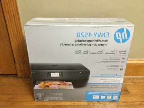 envy 4520 wireless all in one printer