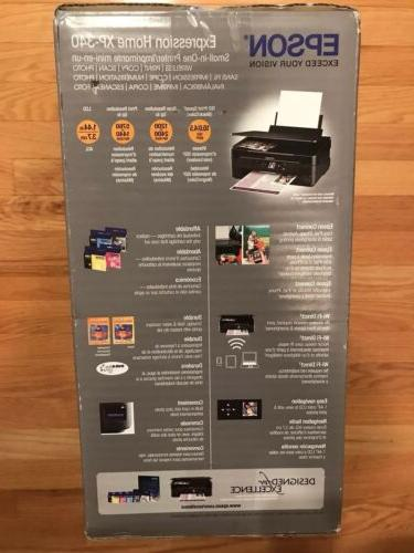 Epson Expression Home Wireless Color Printer, Scanner, and Copier