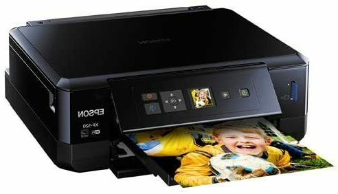 Epson Expression Premium Wireless Color Photo Scanner and