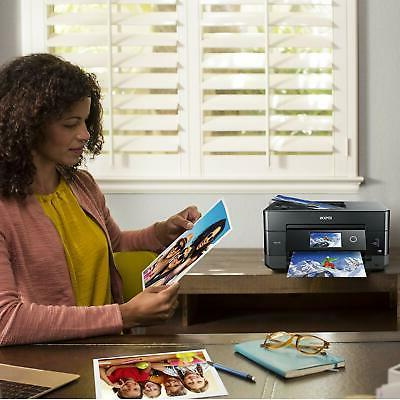 Epson Expression XP-7100 Wireless Color Printer with ADF Scanne...