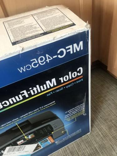 Brother MFC-495CW Wireless Inkjet Print Scan
