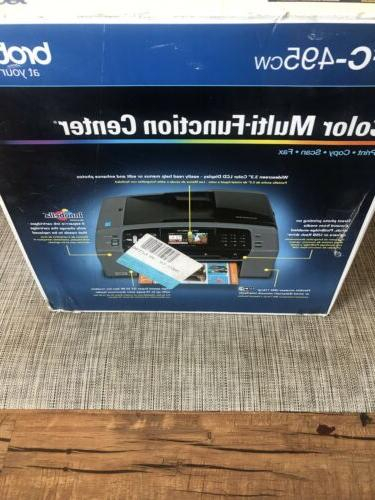 Brother MFC-495CW Inkjet Fax Scan Printer
