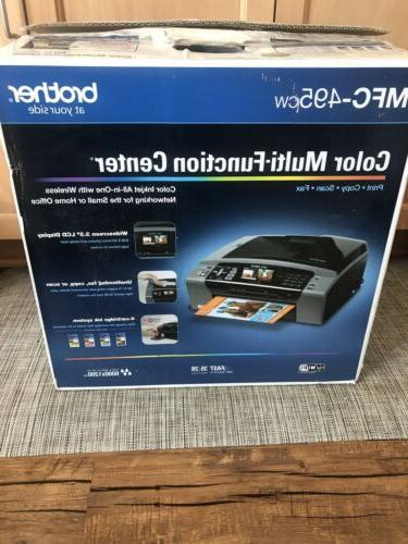 Brother MFC-495CW Inkjet All-In-One Scan