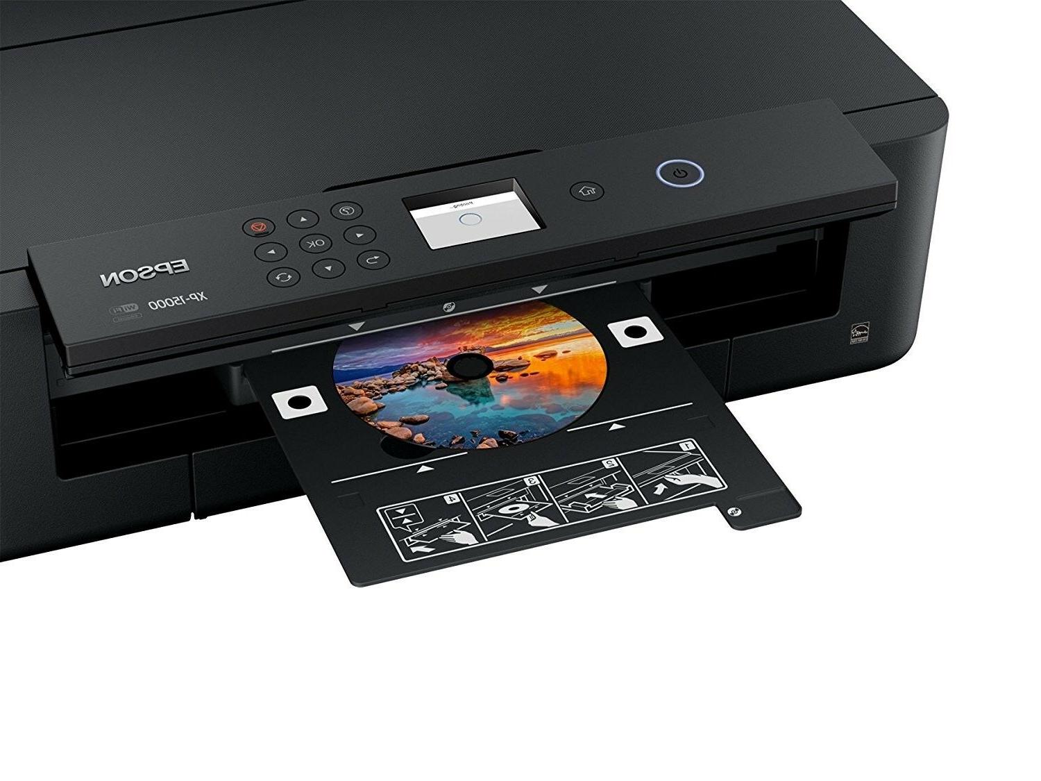 "Epson Wireless Color Printer Up to 13"" 19"""