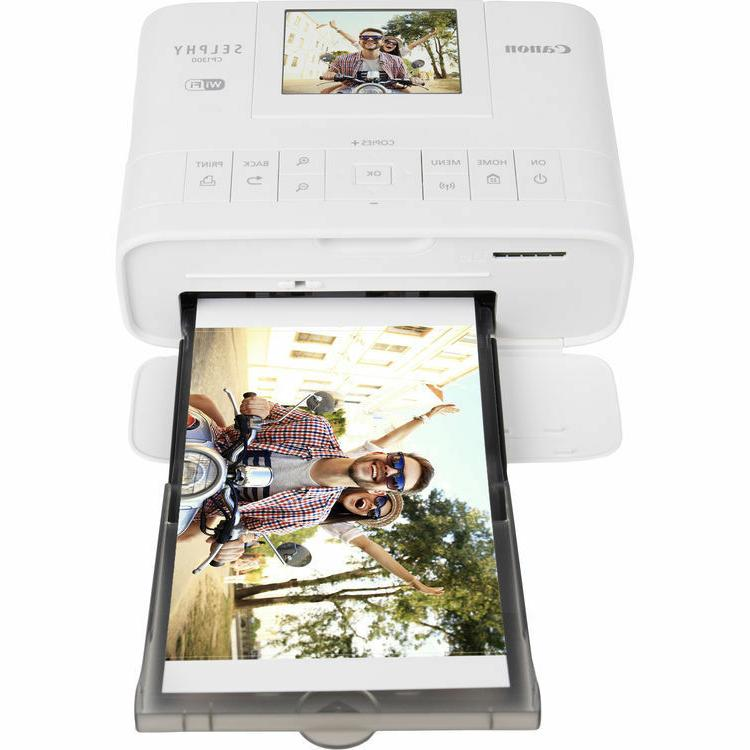 Canon SELPHY Photo Printer with KP-108 Ink/Paper Set