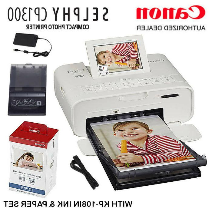 selphy cp1300 compact photo printer with kp