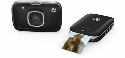 HP 2-in-1 Portable Photo Printer & Camera
