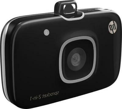 HP Sprocket Portable Photo Printer Camera