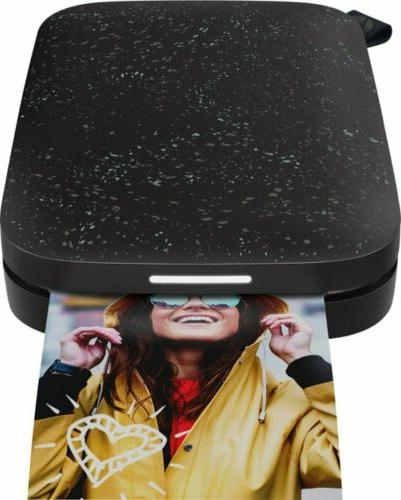 sprocket 2nd edition photo printer speckled design