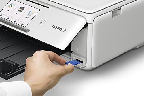 Canon Wireless All-In-One Printer Copier: Mobile Printing, Google Cloud Print compatible,