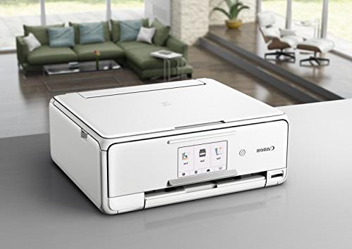 Canon Wireless Printer Copier: Printing, with Airprint Google Cloud White