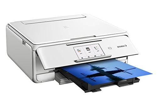 Canon Copier: Printing, with Google Cloud compatible, White