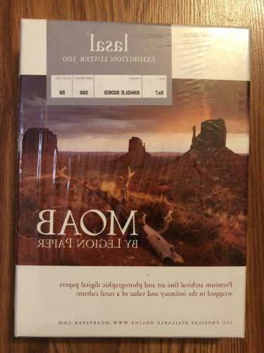 Epson Paper Luster 17x22 Moab Lasal Luster