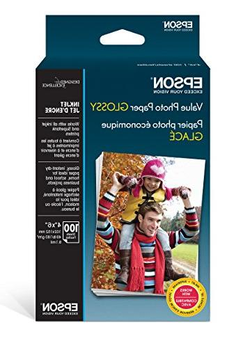 value photo paper glossy
