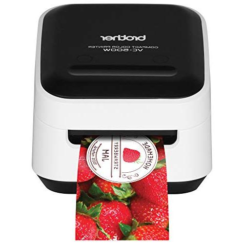 Brother VC-500W Color Label and Printer Wireless