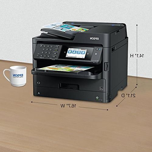 Epson Workforce EcoTank Wireless Copier,