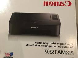 New CANON PIXMA TS202 Color Inkjet Photo Printer WITH  INK I
