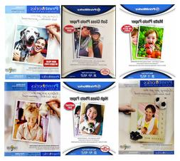 Printworks Photo Paper in a Variety of Finishes, 8.5'' x 11'