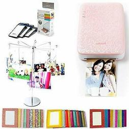 PhotoBee Portable Sticker Photo Printer Party Package - Pink