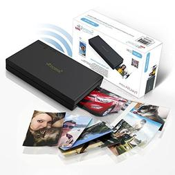 SereneLife Portable Instant Mobile Photo Printer - Wireless