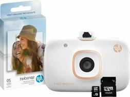 HP Sprocket 2-in-1 Portable Photo Printer & Instant Camera B