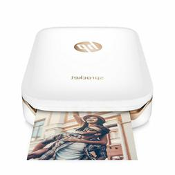 "HP Sprocket 2"" x 3"" Photo Printer, Print from SmartPhone, X7"