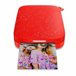 HP SPROCKET 2ND EDITION INSTANT PHOTO PRINTER 1AS90A CHERRY